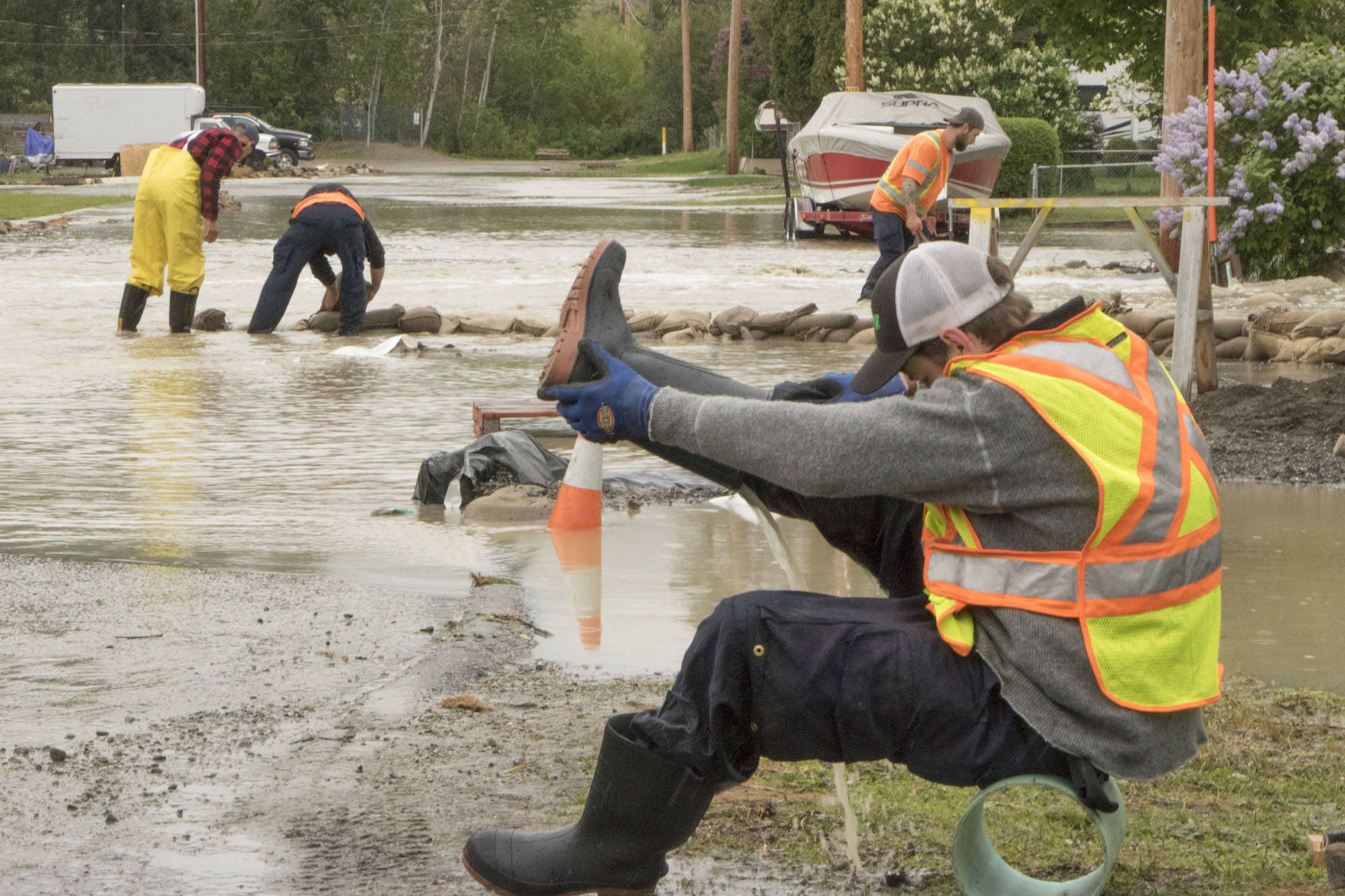 B.C. officials watching for impact of 'extreme' heat on floods